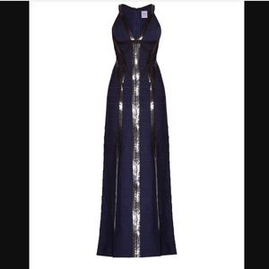 Herve Leger Katara Sequined Gown